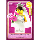 LEGO Create the World Card 132 - Bride