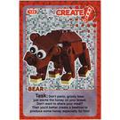 LEGO Create the World Card 133 - Bear [foil]