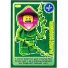 LEGO Create the World Card 134 - Plant Monster
