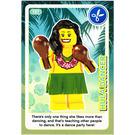 LEGO Create the World Card 137 - Hula Dancer
