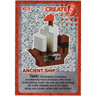 LEGO Create the World Card 138 - Ancient Ship [foil]