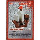 LEGO Create the World Card 138 - Ancient Ship [foil]