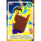 LEGO Create the World Card 139 - Lily