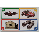 LEGO Creationary Game Card with Bat