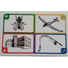 LEGO Creationary Game Card with Fly