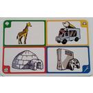 LEGO Creationary Game Card with Giraffe