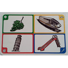 LEGO Creationary Game Card with Grapes