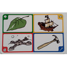 LEGO Creationary Game Card with Leaf