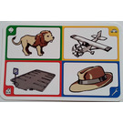 LEGO Creationary Game Card with Lion