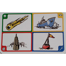 LEGO Creationary Game Card with Meteor