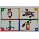 LEGO Creationary Game Card with Owl