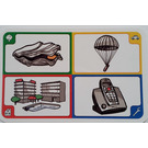 LEGO Creationary Game Card with Oyster