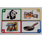 LEGO Creationary Game Card with Panda