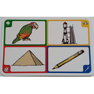 LEGO Creationary Game Card with Parrot