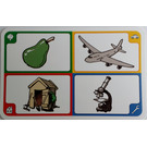 LEGO Creationary Game Card with Pear