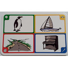 LEGO Creationary Game Card with Penguin