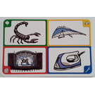LEGO Creationary Game Card with Scorpion