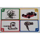 LEGO Creationary Game Card with Seaweed