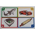 LEGO Creationary Game Card with Shark