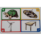 LEGO Creationary Game Card with Turtle