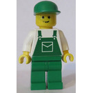 LEGO Creator Board Male, Green Overalls Minifigure