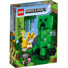 LEGO Creeper with Ocelot Set 21156 Packaging