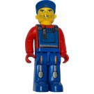 LEGO Crewmember with Blue Overalls Minifigure