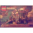LEGO Crocodile Cage Set 6246 Instructions