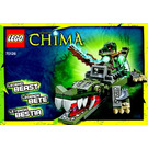 LEGO Crocodile Legend Beast Set 70126 Instructions