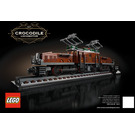 LEGO Crocodile Locomotive Set 10277 Instructions