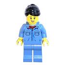 LEGO Crocodile Train Crew (Female) Minifigure