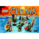 LEGO Crocodile Tribe Pack Set 70231 Instructions