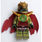 LEGO Crominus with Dark Red Torn Cape, Pearl Gold Shoulder Armour, and Chi Minifigure