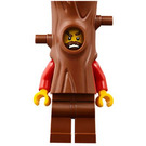 LEGO Crook Hiding in Tree Minifigure