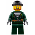 LEGO Crook in Dark Green Outfit Minifigure