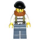 LEGO Crook with Dark Orange Beard Minifigure