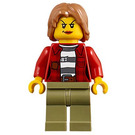 LEGO Crook with Red Jacket Minifigure