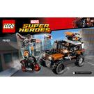 LEGO Crossbones' Hazard Heist Set 76050 Instructions