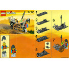 LEGO Crossbow Cart Set 1712 Instructions