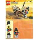 LEGO Crossbow Cart Set 1732 Instructions