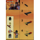 LEGO Crossbow Cart Set 6004 Instructions