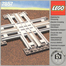 LEGO Crossing, Electric Rails Grey 12 V Set 7857