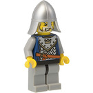 LEGO Crown Knight Scale Mail with Crown, Helmet with Neck Protector, White Moustache and Beard Minifigure