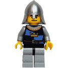 LEGO Crown Knight with Helmet (Dual Sided Head) Minifigure