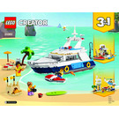 LEGO Cruising Adventures Set 31083 Instructions