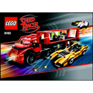 LEGO Cruncher Block & Racer X Set 8160 Instructions