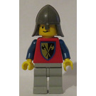 LEGO Crusader Axe Soldier with Light Gray Legs Minifigure