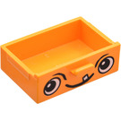 LEGO Cupboard Drawer with Face (4536)
