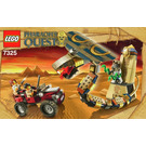 LEGO Cursed Cobra Statue Set 7325 Instructions