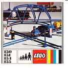 LEGO Curved Track Set 151 Instructions